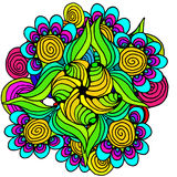 blom- modell för abstrakt bakgrund Arkivbild