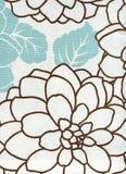 blom- modell för bomullstyg Arkivfoton
