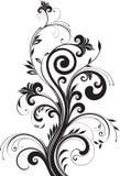 blom- modell för design Royaltyfri Bild