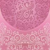 Blom- modell för inbjudan- eller hälsningkort Royaltyfri Foto