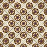 Blom- modell för sömlös tegelplatta Royaltyfria Bilder