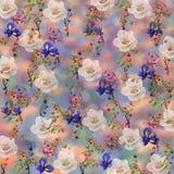 Blom- modell på en suddig bakgrund Royaltyfria Bilder