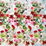 Blom- modell på en suddig bakgrund Royaltyfri Foto