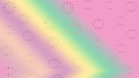Blom- modellabstrakt begreppbakgrund Arkivbild