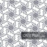 Blom- modellbakgrundsvektor F?r inbjudankort garnering och att sl? in, textiler, papper royaltyfri illustrationer