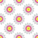 blom- modellwhite Royaltyfria Bilder