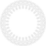 Blom- modern vektorram Royaltyfri Bild
