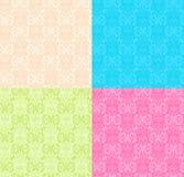 Blom- multicolor Seamless modeller Fotografering för Bildbyråer