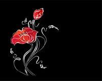 blom- nätt för bakgrund Arkivfoton