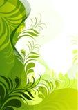 blom- nytt för element royaltyfri illustrationer