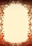 blom- oenamental för bakgrund Arkivbild