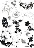 blom- olika element Royaltyfria Foton