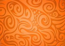 blom- orange för bakgrund royaltyfri illustrationer