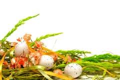 Blom- ordning för påsk Arkivbild