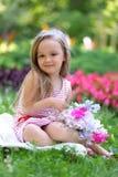 Blom- parkera Royaltyfria Foton