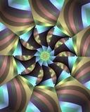 blom- pastellfärgade band royaltyfri illustrationer