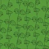 blom- patter stock illustrationer