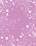 blom- pink för bakgrund Royaltyfri Foto