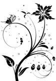 blom- prydnad vektor illustrationer