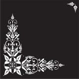 blom- prydnad royaltyfri illustrationer