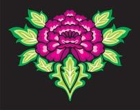 blom- prydnad Arkivfoto