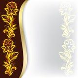 blom- prydnad för abstrakt bakgrund Royaltyfria Foton