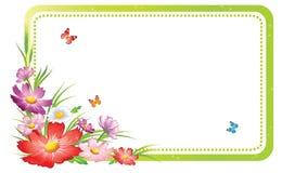 blom- prydnad för bakgrund Arkivfoton
