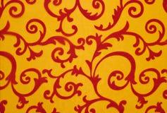 Blom- prydnad, prydnad i barock stil Royaltyfri Foto