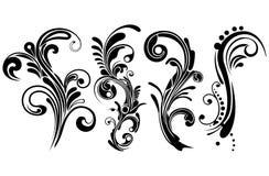 Blom- prydnadar Royaltyfri Fotografi