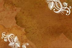 blom- prydnadar för bakgrund Arkivbild