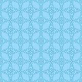blom- prydnadtappning för dekorativa element Sömlösa modeller för tyg och tapet vektor illustrationer