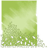 blom- rörelse- painterly stil för konstnärlig bakgrund Royaltyfri Fotografi