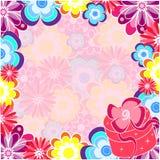 blom- ram Royaltyfria Foton
