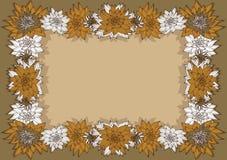 Blom- ram Royaltyfri Bild