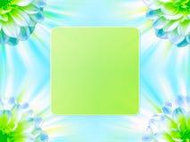 blom- ram för bakgrund Arkivfoton