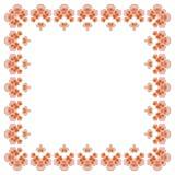 Blom- ram för framställning av av bröllopinbjudningar och ferier Körsbärsröda blomningar royaltyfri illustrationer