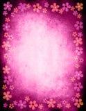 blom- ram för kant vektor illustrationer