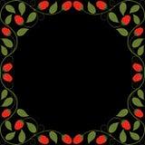 Blom- ram för tappning Arkivbild