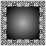 Blom- ramBatik och virvelformer Arkivfoton