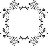 blom- ramdruva för design vektor illustrationer