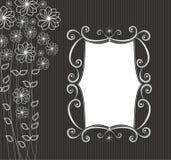 blom- rammodell Royaltyfri Bild
