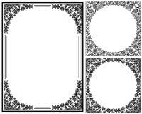 blom- ramtappning Arkivbilder