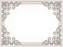 blom- ramtappning Royaltyfria Bilder