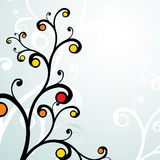 blom- ramvektor Arkivbilder
