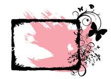 blom- ramvektor vektor illustrationer
