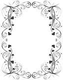 blom- ramvektor för design Royaltyfri Foto