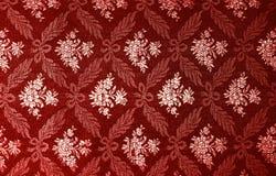 blom- retro wallpaper Fotografering för Bildbyråer