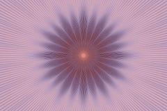 Blom- rosa kalejdoskop f?r blommamodell keramiskt royaltyfri illustrationer