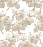 Blom- sömlös bakgrund för bröllopkort vektor illustrationer
