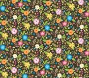 Blom- sömlös bakgrund för gullig vår också vektor för coreldrawillustration Arkivbilder